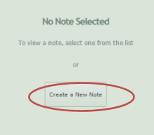 Create a new note